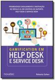 Gamification em help desk e service desk - novatec