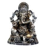 Ganesha médio com base cor estilizada. - Shop everest