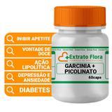 Garcinia + Picolinato de Cromo 60 Cápsulas - Extrato flora