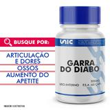 Garra do diabo 500mg 60 cáps - Unicpharma