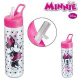 Garrafa / Squeeze De Plastico Pet Minnie Mouse Silk Com Tamp - Pet minie