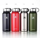 Garrafa Térmica Aço Inox Vacuum Bottle 1100ml Água Suco Café - Jk