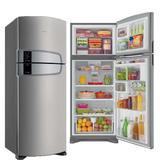 Geladeira Consul Domest 2 Portas 405 Litros Inox Frost Free 110V