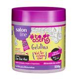 Gelatina Mix Vai Ter Volume Sim Todecacho Salon Line 550g