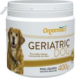 Geriatric dog 400g organnact 400 g cachorro idoso