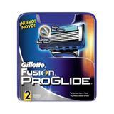 Gillette carga fusion proglide c/2