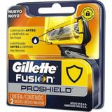 Gillette carga para aparelho fusion proshield c/2