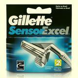 Gillette carga para aparelho sensor excel c/2