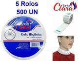 Gola Higiênica 05 Rolos com 100 unidades - Ref.4403 - Santa clara