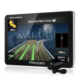 "GPS Automotivo Discovery Channel 4.3"" MTC3842 com TV e Câmera de Ré - Aquarius"