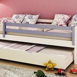 Grade de proteção para cama infantil madeira maciça - laca lilás - Casatema