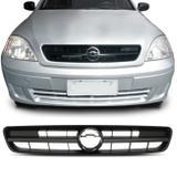 Grade Dianteira Central Corsa 2002 2003 2004 2005 2006 2007 2008 Preto Espaço Emblema - Prime