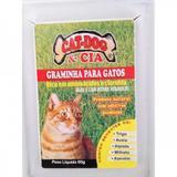 Graminha Cat-Dog  Cia Para Gatos 60g