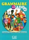 Grammaire point ado a2 livre + cd audio - Cle international - paris