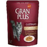 Gran Plus Sachê Frango para Gatos Castrados Adultos - 50G - Affinity