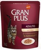 Gran Plus Sachê Salmão para Gatos Adultos - 50G - Affinity