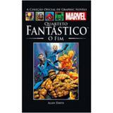 Graphic Novels Marvel Quarteto Fantástico O Fim