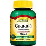 Guaraná 500mg - 60 Cápsulas - Maxinutri