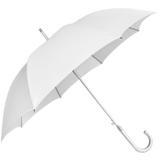 Guarda-chuva Long Light 119 cm Haste de alumínio Curvo - Branco - Sungap