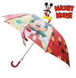 Guarda-Chuva Sombrinha Infantil Cabo Curvo Automático Mickey Disney 100CM - Etihome