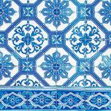Guardanapo De Papel Decorado Blue Tile - Paper+design