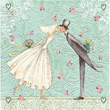 Guardanapo De Papel Decorado Bride and Groom - Paper+design