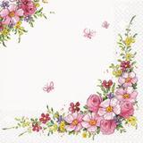 Guardanapos flores charmosas HOF211350 pct 20fls - Home fashion
