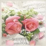 Guardanapos sinfonia das flores HOF211316 pct 20fls - Home fashion