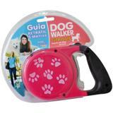Guia Retrátil Para Cachorros Dog Walker Rosa - São pet