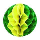 Guirlanda Balão Verde e Amarelo Brasil CP912 - Festabox