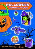 Halloween Azul - Brincadeiras de Papel
