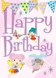 Happy Birthday Enchanted Forest - Cardooo