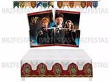 Harry Potter * Decoração Festa * Painel Faixa Toalha De Mesa - Festcolor