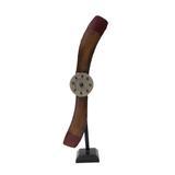 Helice De Avião Vintage Retro De Ferro Decorativa  56x20x9cm - Maisaz