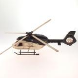 Helicóptero Branco Metal - Kit gil