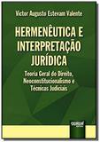 Hermeneutica e interpretacao juridica - teoria ger - Jurua