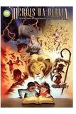 Heróis Da Bíblia - Devocionais Em Quadrinhos Com Atividades - Editora 100 por cento cristão