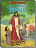 Historia de jesus, a - liv.da biblia em adesivos - Cpad
