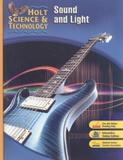 Holt science and technology - sound and light - Houghton mifflin