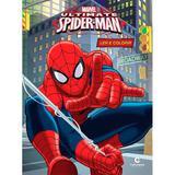 Homem Aranha Livro Atividades Colorir Disney - Culturama 210019-665