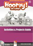 Hooray! lets play! activities  projects guide + class audio cd - level b - british and american en - Helbling languages