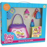 Hora do Faz de Conta Baby Alive Bolsinha da Mamãe 987 Elka