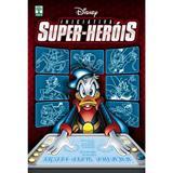 HQ Iniciativa Super-Heróis Walt Disney Coletânea de Histórias em Quadrinhos Edição de Colecionador - Abril