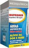 IBUPROMED 100mg/ml  Gotas / 20 ml Sabor Morango Medquímica - Medquimica industria farmaceu