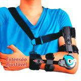 Imobilizador de Cotovelo Tipo Brace Axilo Articulado com Alças Bracepauher Orthopauher