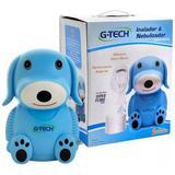 Inalador E Nebulizador Nebdog G-tech Máscara Adulto - Azul