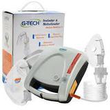 Inalador  Nebulizador Modelo Nebcom V/ G-TECH Prata - Accumed