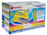 Inalador Nebulizador Ultrassônico Pulmosonic Star Premium Amarelo - Soniclear