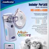 Inalador Portátil MD4400 Medicate Rede Vibratória
