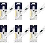 Incoterm Domotherm Termômetro Digital Branco (Kit C/06)